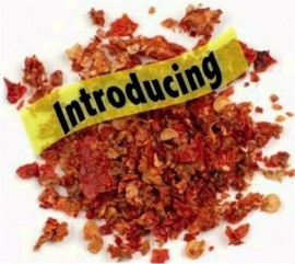1 Pound Dried Carolina Reaper Flakes